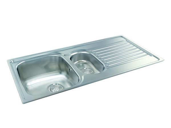 Carron Phoenix Contessa 150 Revolution Sink 1.5 1000Mm X 510Mm Stainless Steel