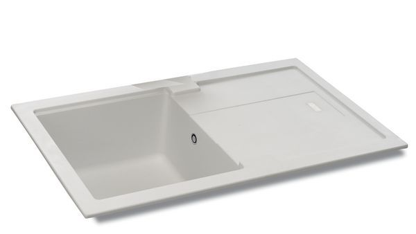 Carron Phoenix Bali Reversible Sink 1.0 Bowl 780 X 500 Graphite