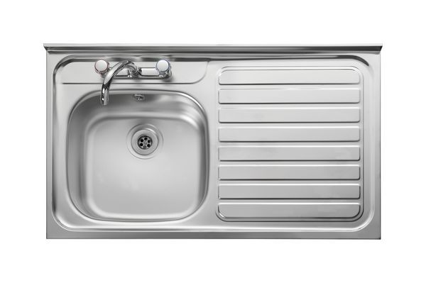 Leisure Contract Lc106l Left Hand Roll Top Front Sink 1000 X 600 Stainless Steel