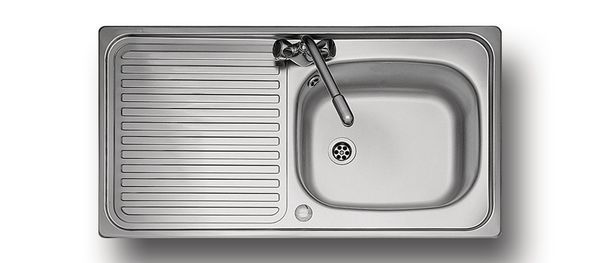 Aga Rangemaster Linear Lr950 1 Tap Hole Single Bowl Reversible 950 X 508 Stainless Steel
