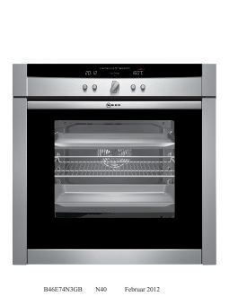 Neff B46e74n3gb Srs 5 S&H Single Oven Ss