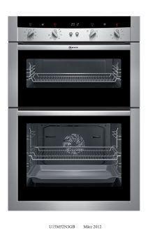 Neff U15m52n3gb Double Oven Ss
