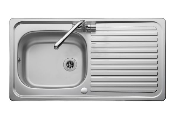 Leisure Linear Lr950/Tc-Wm Sink And Tap 1.0 Bowl Stainless Steel