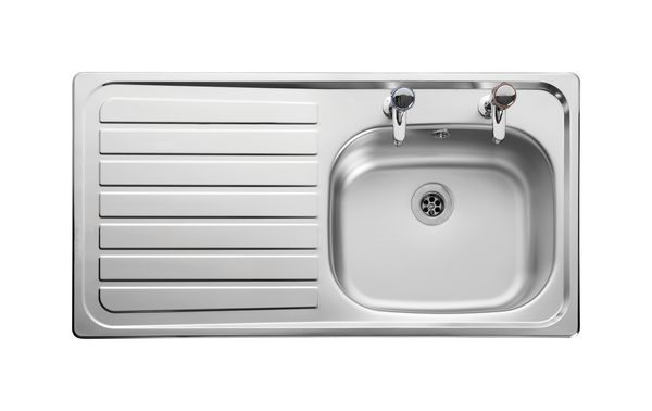 Leisure Linear Lr9502l/Tc-Wm Left-Hand And Tap 1.5 Bowl Stainless Steel