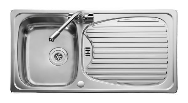Leisure Euroline El9501/Tc-Wm Sink And Tap 1.5 Bowl Stainless Steel