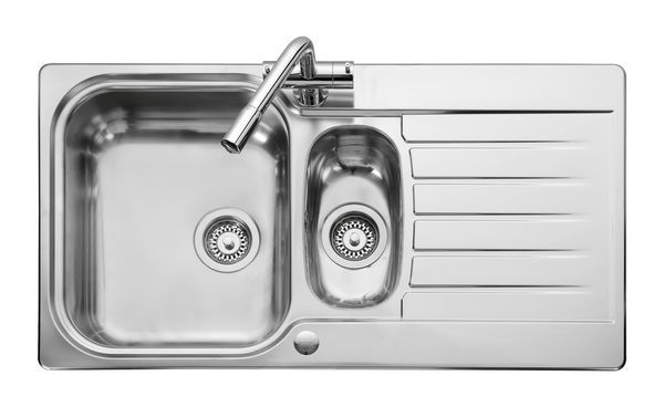 Leisure Seattle Se9502 Reversible 1.5 Bowl 950Mm X 508Mm Polished Stainless Steel