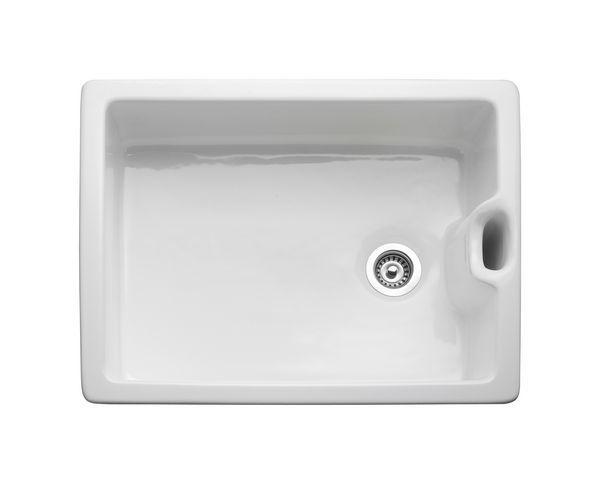 Rm Belfast 595X455mm 1.0B Ceramic Snk Wh