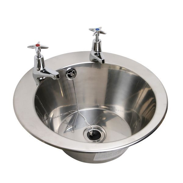 Pland Wb312515 2 Tap Hole Inset Bowl With Waste