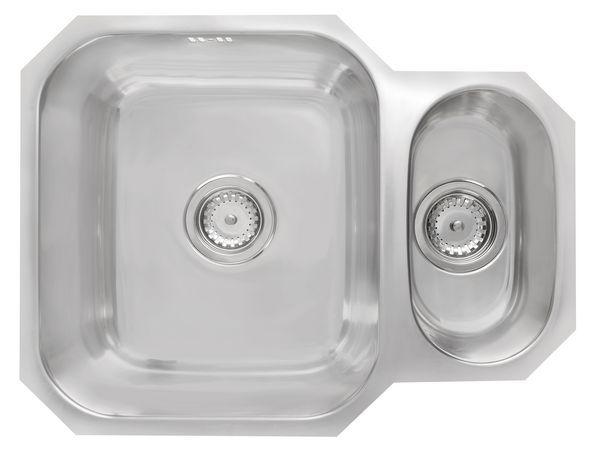 1.5B Reversible Undermount Sink Stainless Steel