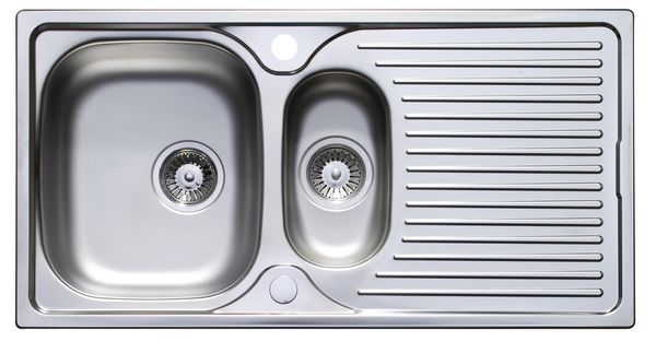 A/Cast 965X500mm 1.5B Rev Inset Sink Ss