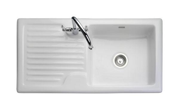 Rustic Sbsd Rev Wh Ceramic Sink 1010*510