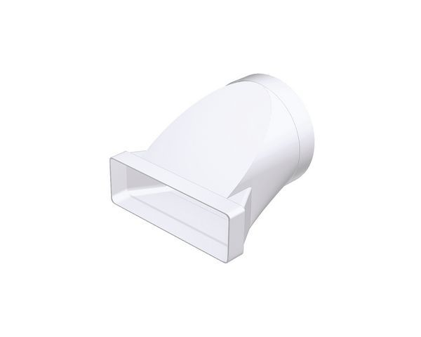 Domus 970 220X90mm Rnd To Rect Adaptor