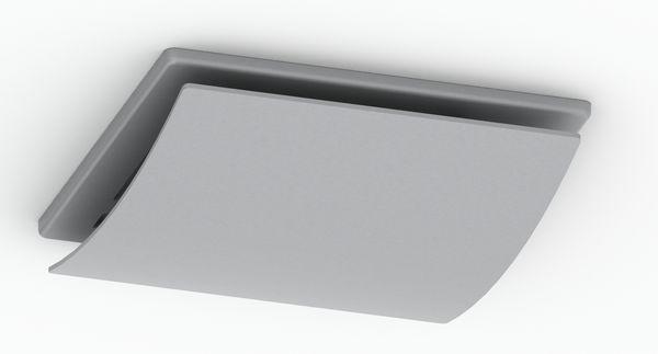 100Mm Sapphire Axial Fan Fascia Curved S