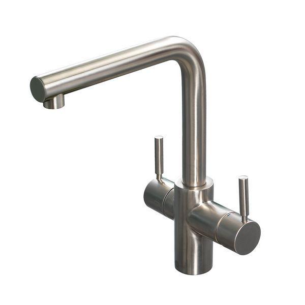 Insinkerator 44837B 3 In 1 Sink Tap Only B/Steel