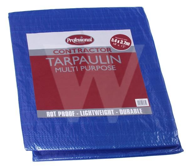 Contractor Poly Tarpaulin 18' X 12'