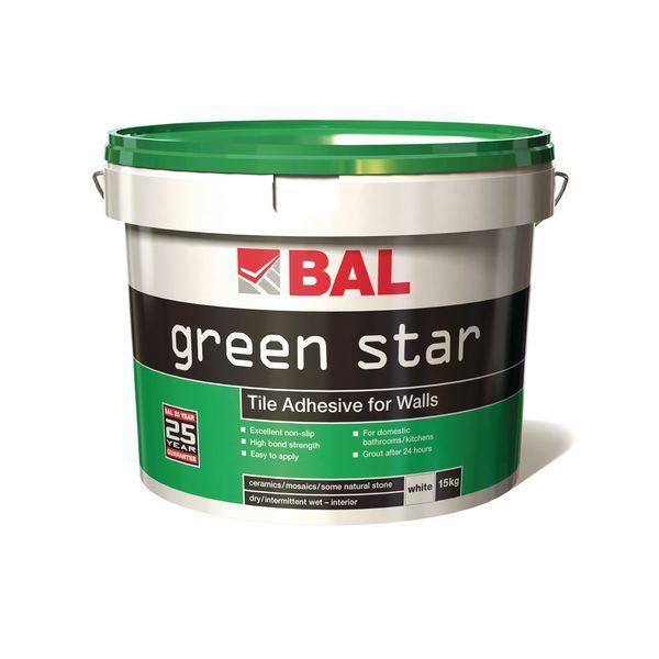 Bal Green Star Ready Mixed Tile Adh 15Kg
