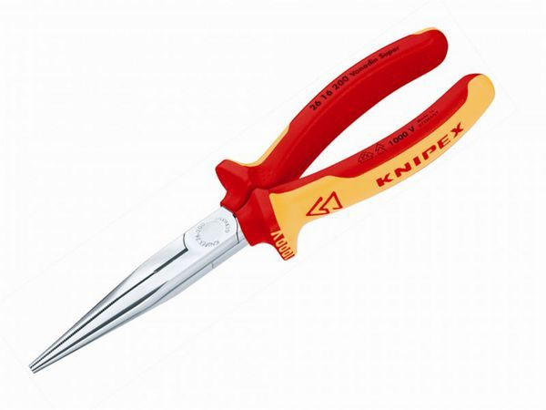 Knipex SNIPE NOSE SIDE CUTTING PLIERS 200MM