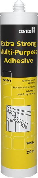 Wolseley Own Brand * Center Brand X-STRONG MPURPOSE ADHESIVE WH 290ML