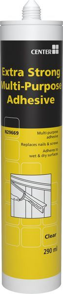* Center Brand X-STRONG MPURPOSE ADHESIVE CL 290ML