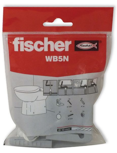 Fischer WB5NRES w/c pan side fixing set