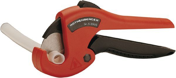 Rothenberger 26TC plastic pipe shear 0-26