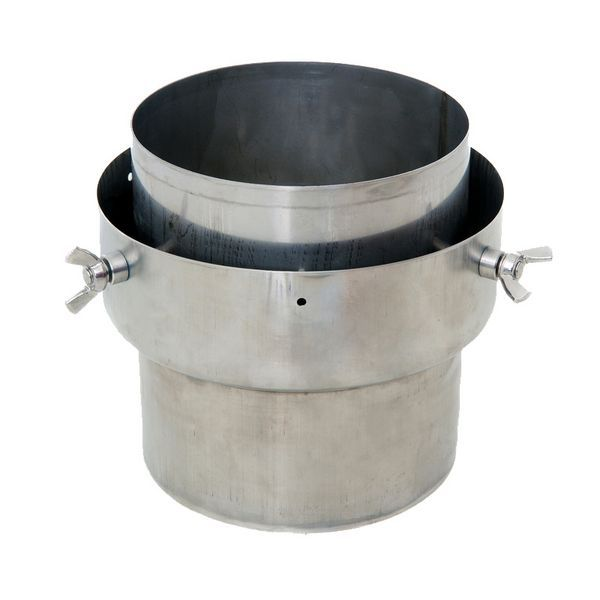 Kaysted STOVE TO FLEX FLUE LINER ADAPTER 125MM