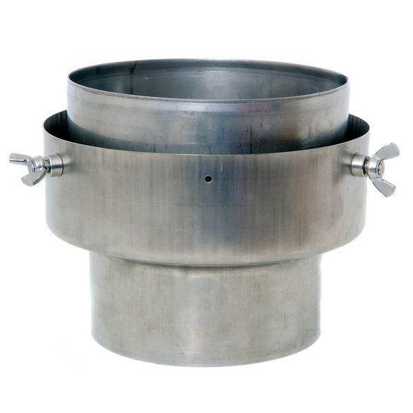 Kaysted STOVE TO FLEX FLUE ADAPTER 125 150MM