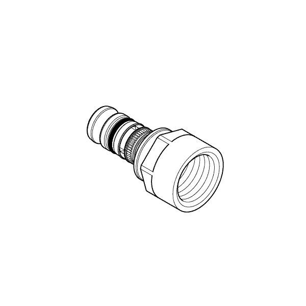 MEPLA 603.556.00.5 FI STR CONN    26X3/4