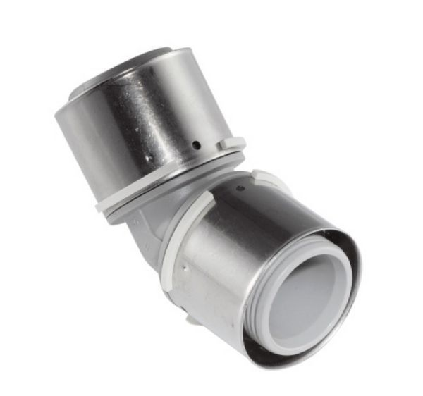 Uponor MLCP composite 45 degree elbow 40 x 40mm