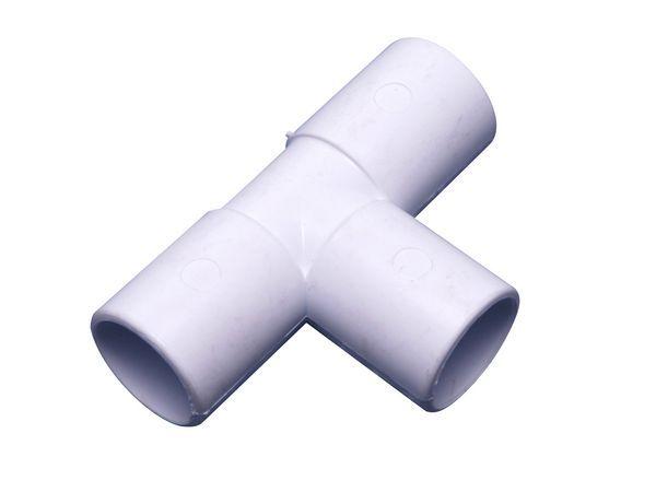 Wavin 1E190 21.5mm tee 90 degree ABS White