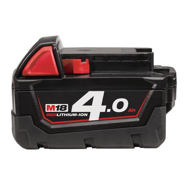 MILWAUKEE M18 4.0AH RED LI BATTERY