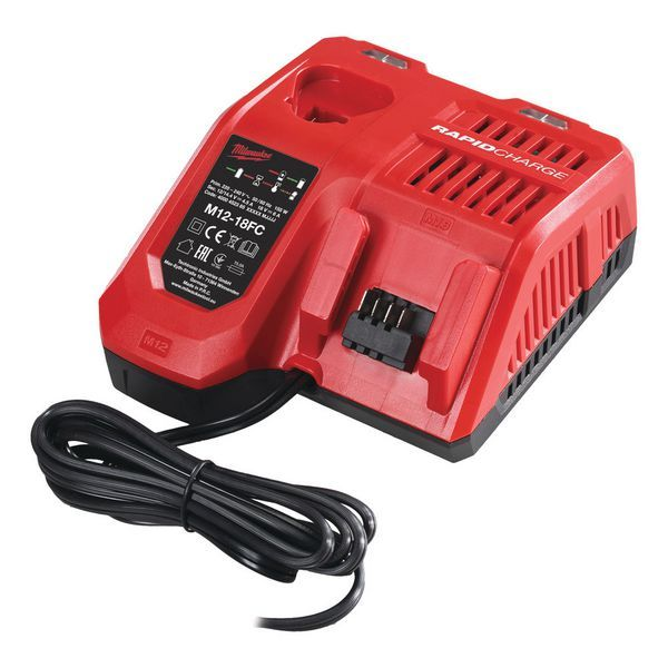 MILWAUKEE M12-18FC MULTI FAST CHARGER