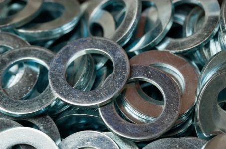 * JET M6 X 25 PENNY WASHER ZINC PLATED