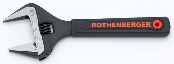ROTHENBERGER 6 ADJ WIDE JAW WRENCH