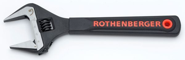ROTHENBERGER 8 ADJ WIDE JAW WRENCH