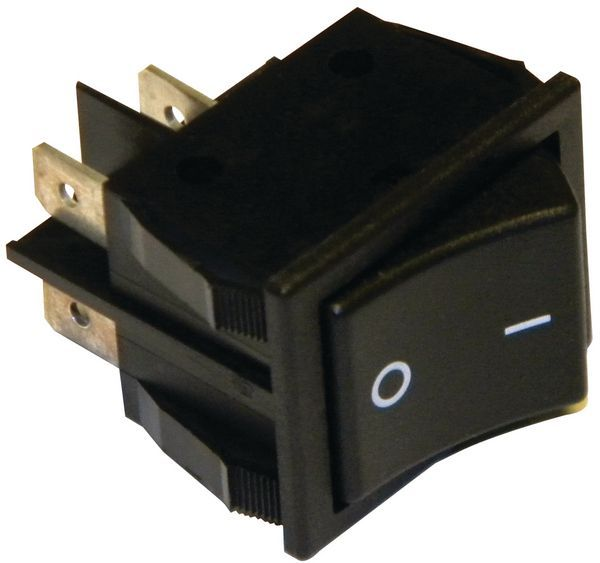 Barbecue King sw040 rocker switch dp black