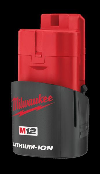 MILWAUKEE M12 1.5AH RED L-ION BATTERY