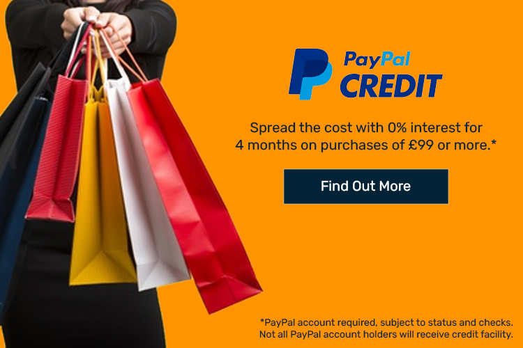 Spread the cost with PayPal Credit at BHL
